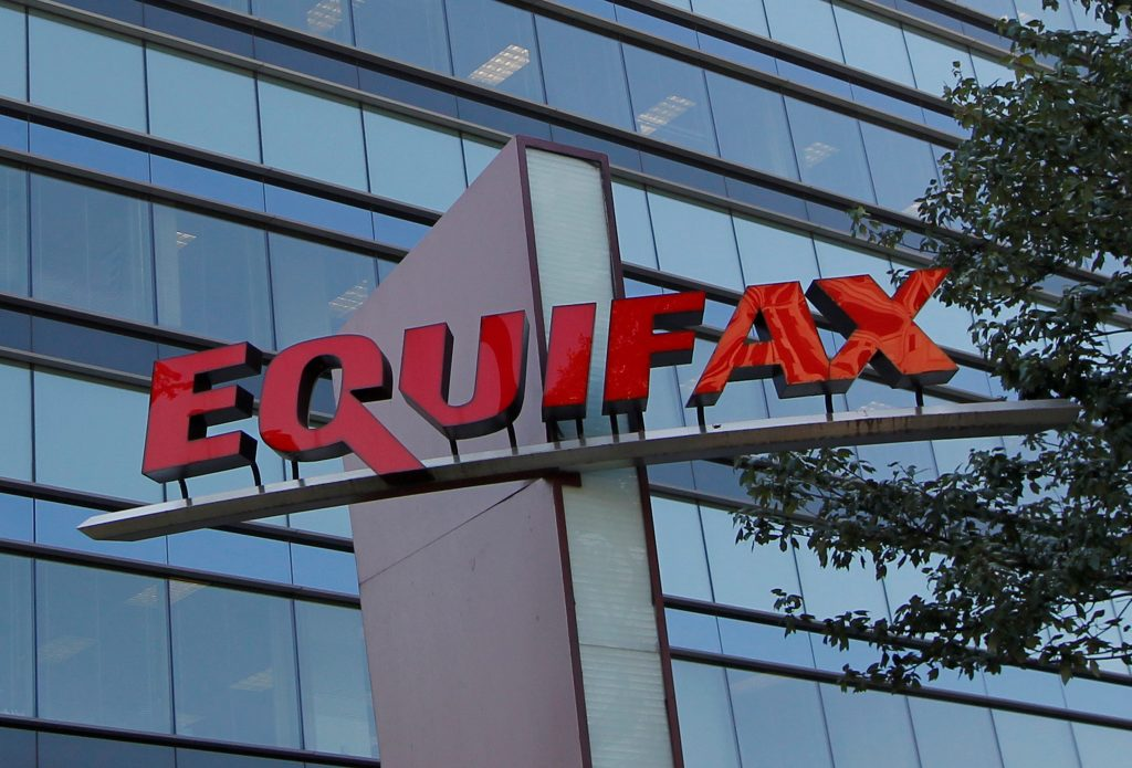 Credit reporting company Equifax Inc. corporate offices are pictured in Atlanta, Georgia. Photo by Tami Chappell/Reuters