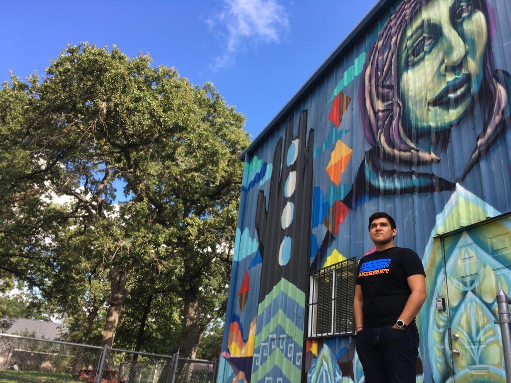 Juan Belman, age 24, 2017 graduate of University of Texas at Austin. Photo: Sarah Gonser/The Hechinger Report