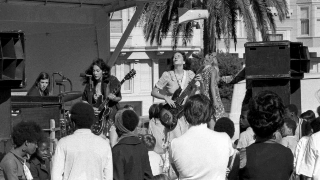 TThe Ace of Cups performing in the late '60s in San Francisco. Credit: Richard Astle