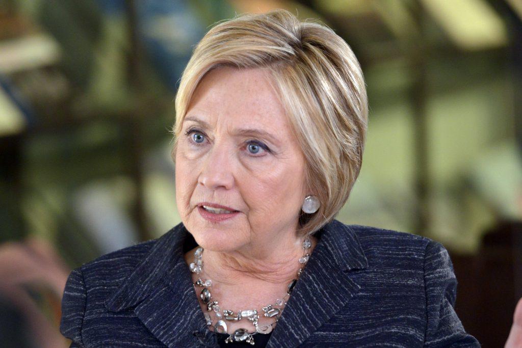 Hillary Clinton says Trump is doing 'Putin's bidding'