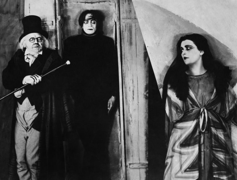 "Scene from the movie ""The Cabinet of Dr. Caligari"" with Werner Krauss and Conrad Veidt, directed by: Robert Wiene. (Photo by ullstein bild/ullstein bild via Getty Images)"