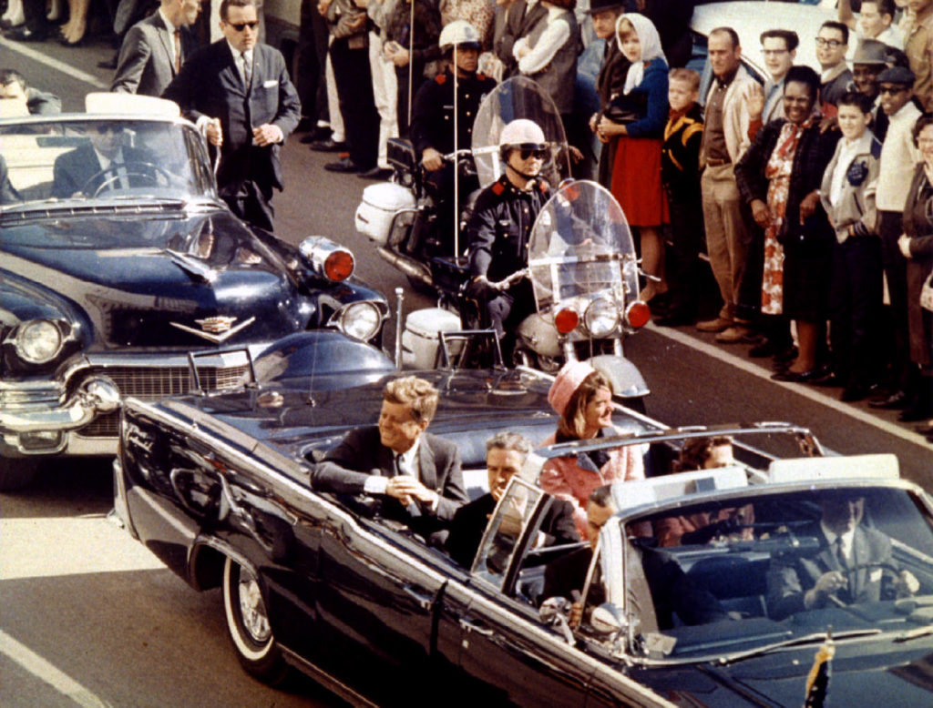 November 22, 1993 will mark the 30th anniversary of the assassination of President John F. Kennedy. President and Mrs. John F. Kennedy, and Texas Governor John Connally ride through Dallas moments before Kennedy was assassinated, November 22, 1963. Credit: Reuters