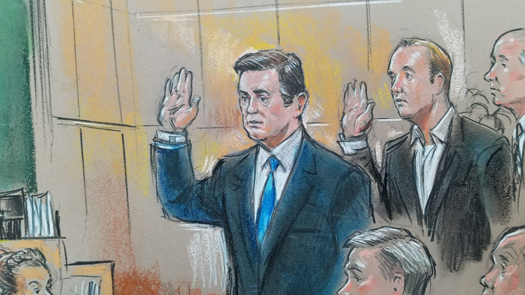 Image result for images of paul manafort in court