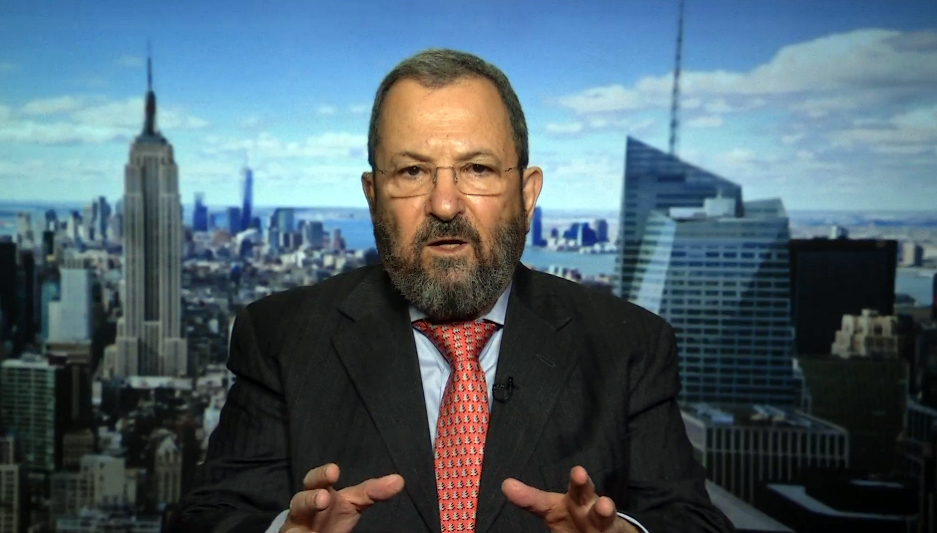 Former Israeli prime minister Ehud Barak spoke to PBS NewsHour anchor Judy Woodruff about the Mideast peace process, Iran ...
