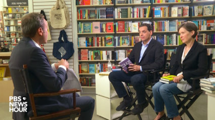 Daniel Pink and Ann Patchett discuss their book recommendations with PBS NewsHour arts correspondent Jeff Brown.