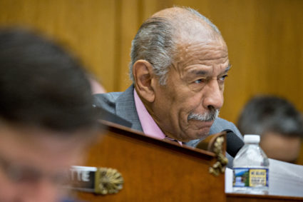File photo of Rep. John Conyers, D-Mich., by Andrew Harrer/Bloomberg via Getty Images