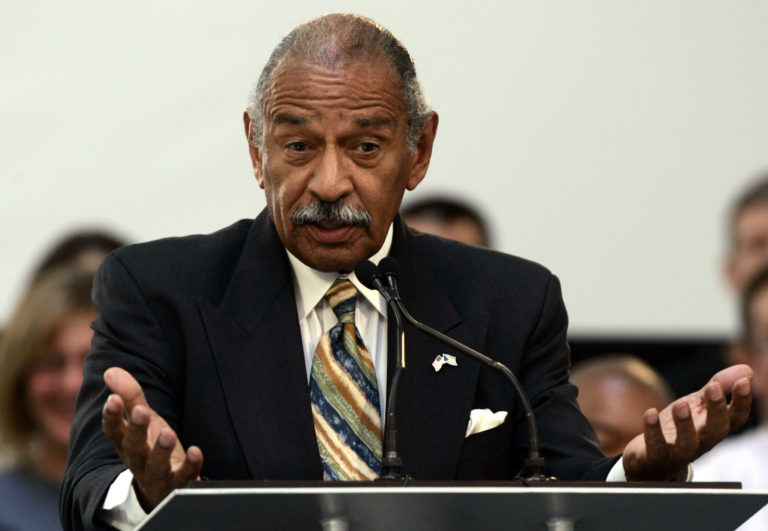 File photo of Rep. John Conyers by Rebecca Cook/Reuters