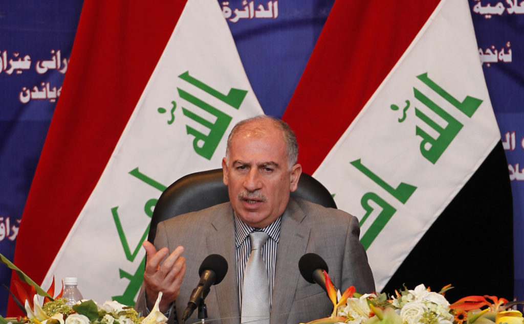 File photo of Iraqi Vice President Osama al-Nujaifi by Mohammed Ameen/Reuters