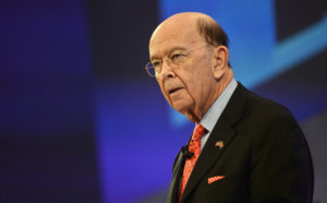 Commerce Secretary Wilbur Ross, speaks at the Confederation of British Industry's annual conference in London. Photo by Mary Turner/Reuters