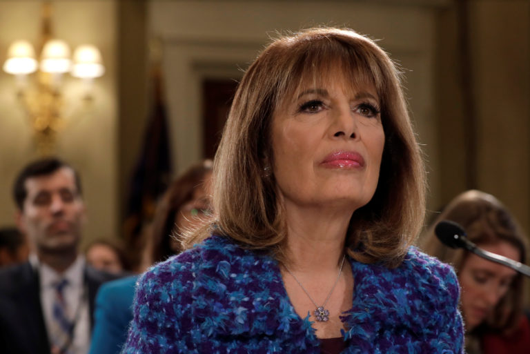 File photo of Rep. Jackie Speier, D-Calif., by Yuri Gripas/Reuters
