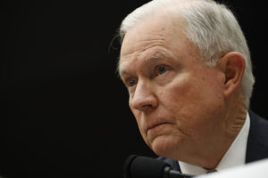 Attorney General Jeff Sessions testifies before a House Judiciary Committee hearing on oversight of the Justice Department on Capitol Hill in Washington, D.C. Photo by Aaron P. Bernstein/Reuters