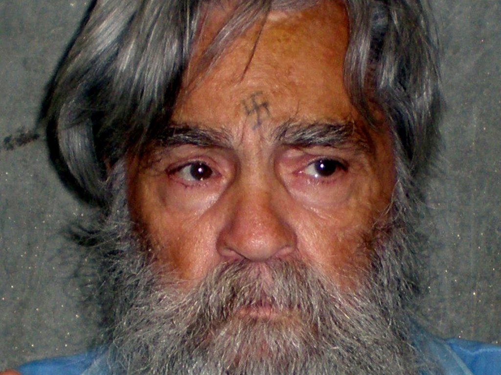 Convicted mass murderer Charles Manson is shown in this handout picture from the California Department of Corrections and Rehabilitation dated June 16, 2011 and released to Reuters April 8, 2012. Photo of handout via Reuters