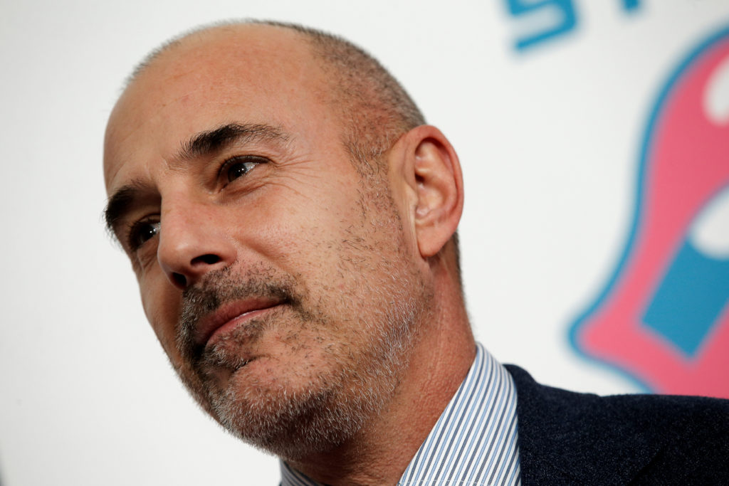 File photo of NBC Today Show host Matt Lauer in New York City by Mike Segar/Reuters