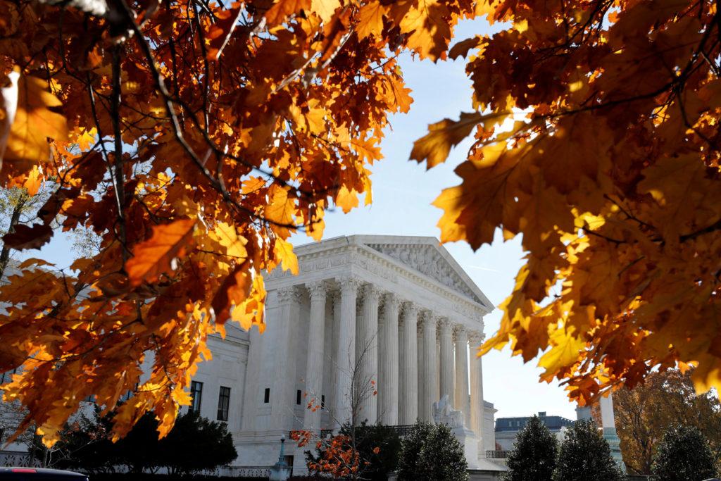 The Supreme Court seen in Washington, D.C. Photo by Yuri Gripas/Reuters