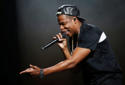 Rapper Jay-Z sweeps the 2018 Grammy Awards with eight nominations. He's tied with Bruno Mars for the most nominations, and up against rapper Kendrick Lamar for best album. REUTERS/Benoit Tessier/