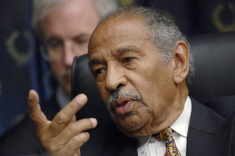 File photo of Rep. John Conyers, D-Mich., by Jonathan Ernst/Reuters