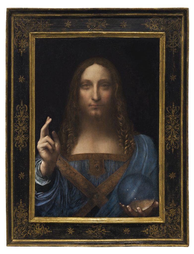 "Leonardo da Vinci's ""Salvator Mundi"" sold for more than $400 million. Photo courtesy of Christie's."