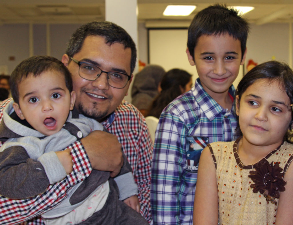 Hameed Haqparwar and his family came from Afghanistan on a Special Immigrant Visa to start a new life in the United States. Photo by Larisa Epatko/PBS NewsHour
