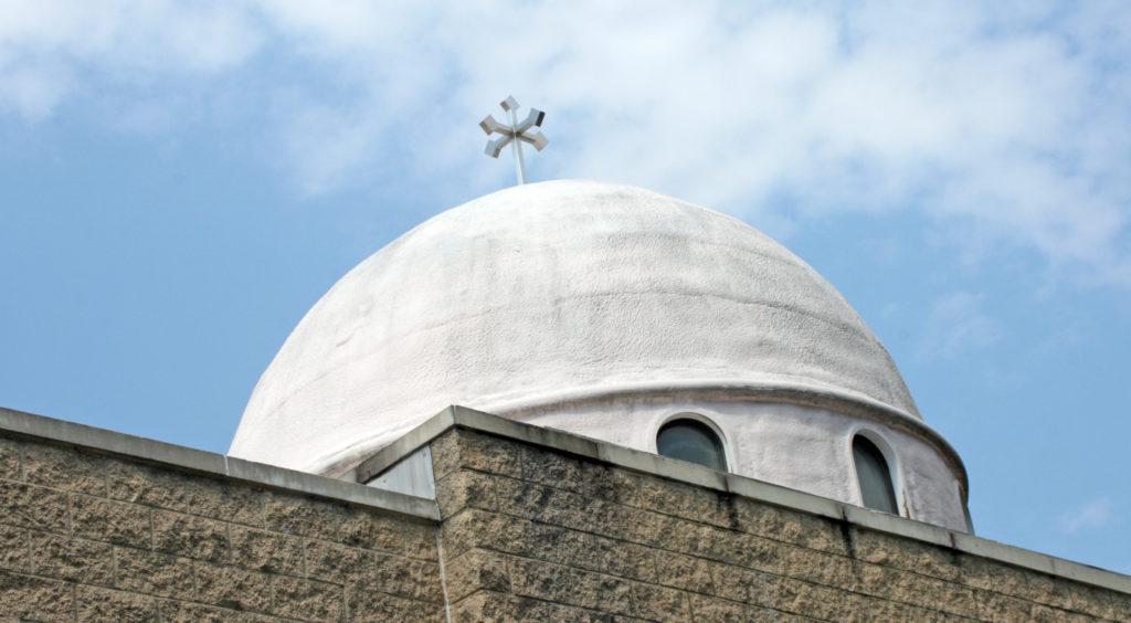 St. Mark Coptic Orthodox Church in Fairfax, Va., has 3,500 members and counting. Photo by Larisa Epatko
