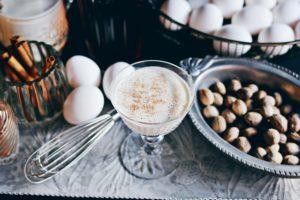 Sun Liquor's famous holiday eggnog. Photo by Andrea Chapman, Sun Liquor.