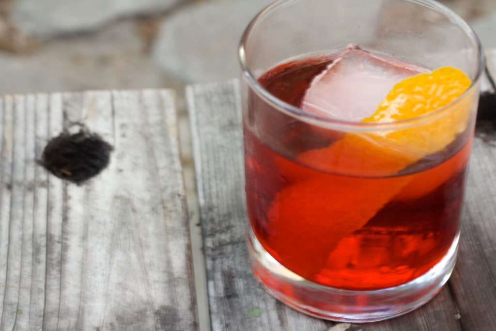 The Vya Negroni. Courtesy of Dana Fares, Quady Winery, Madera, California