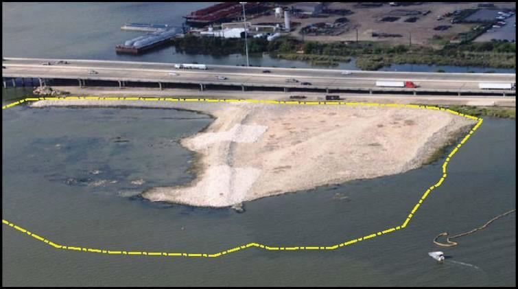 Aerial view of San Jacinto cap.