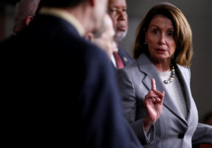 File photo of House Democratic leader Nancy Pelosi by Joshua Roberts/Reuters