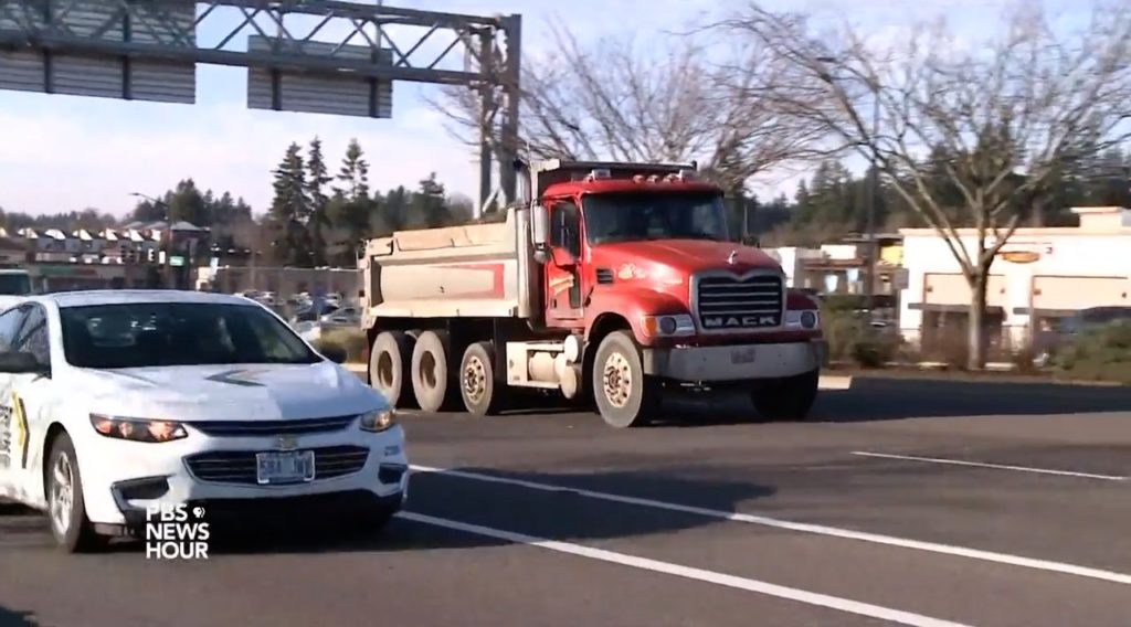 How will Oregon clean up diesel air pollution?