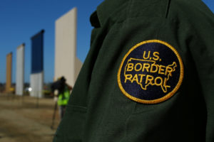 File photo of a border patrol officer by Mike Blake/Reuters