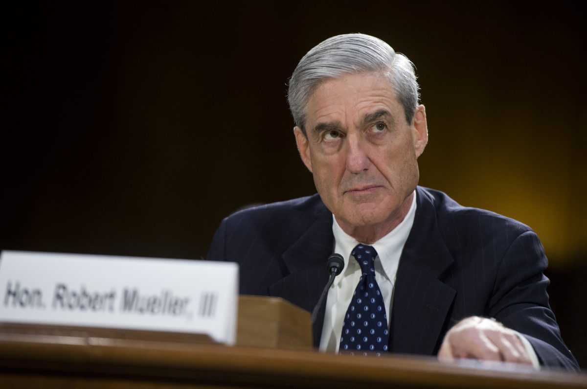 Former FBI Director Robert Mueller testifies before a Senate Judiciary Committee hearing in Dirksen Building on oversight of the FBI. Photo By Tom Williams/CQ Roll Call