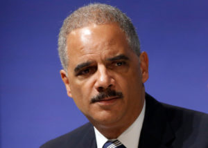 U.S. Attorney General Eric Holder participates in the Washington Ideas Forum, in Washington October 29, 2014. The forum is held by the Aspen Institute and The Atlantic magazine. REUTERS/Jonathan Ernst (UNITED STATES - Tags: POLITICS) - GM1EAAU04Q601