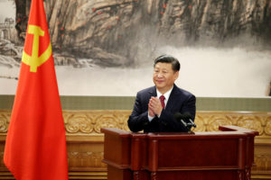 File photo of Chinese President Xi Jinping in Beijing by Jason Lee/Reuters