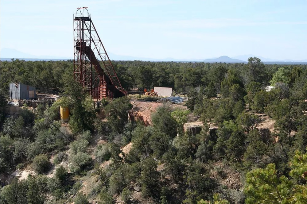 The Orphan uranium mine on the South Rim of the Grand Canyon operated from 1956-1969 and is now a radioactive waste site. Photo by Alan Levine,/Creative Commons