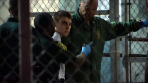 This video screen grab image shows shooting suspect Nikolas Cruz on February 15, 2018 at Broward County Jail in Ft. Photo by Miguel Guttierez/AFP/Getty Images)
