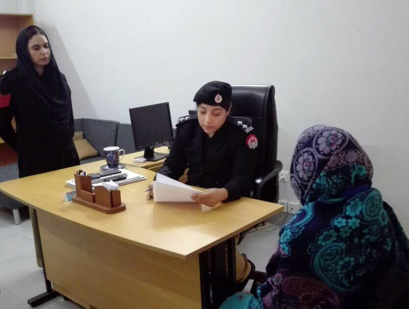 The center also includes an all-female 30-member police force. Photo courtesy of the Punjab Strategic Reforms Unit