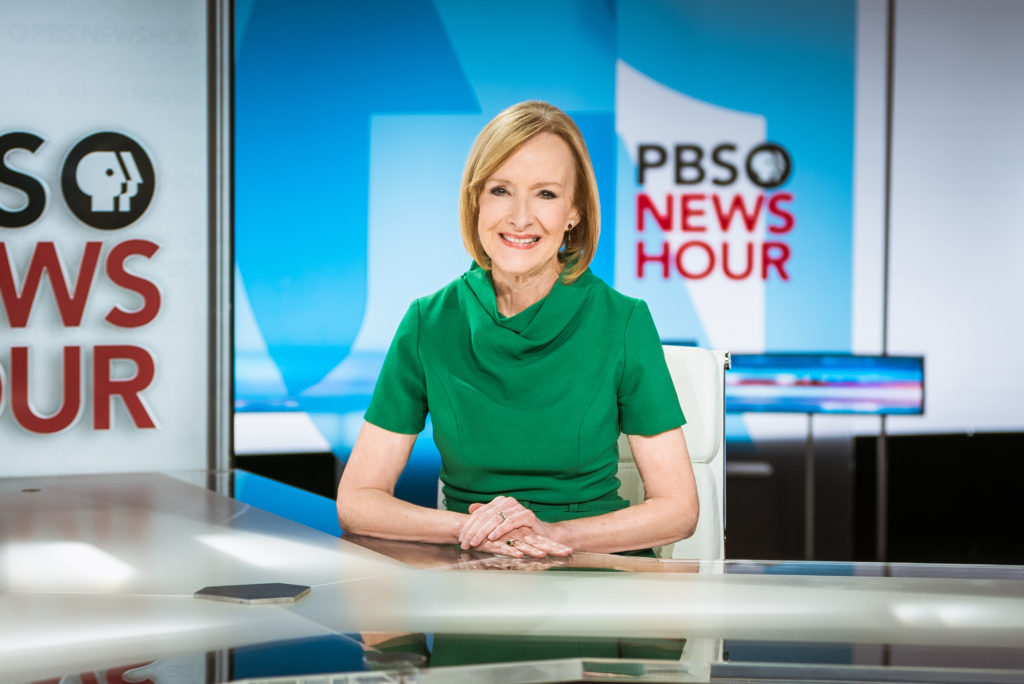 PBS NEWSHOUR NAMES JUDY WOODRUFF SOLO ANCHOR | PBS NewsHour
