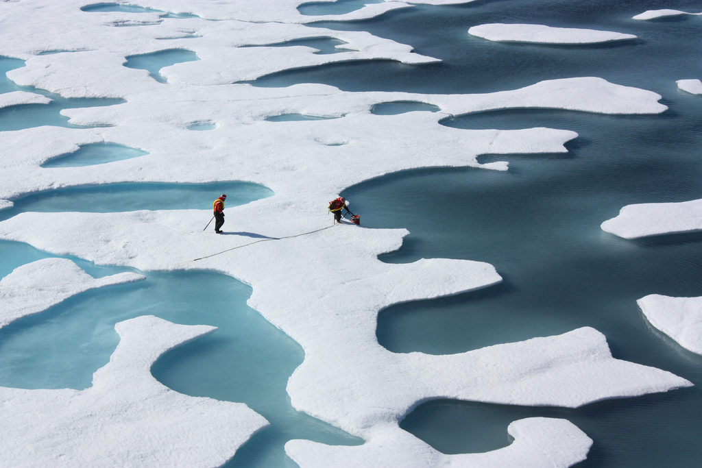 A new study describes a strong relationship between Arctic warming and the most extreme winter weather in the eastern United States since 1990. Photo by Kathryn Hansen/NASA Goddard