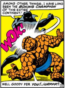 black panther comic book #1