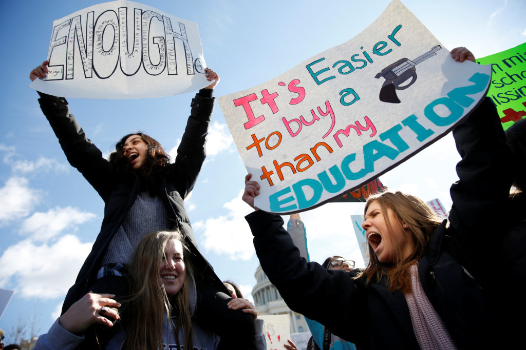 Teenagers will lead the charge and demand change at anti-gun violence March for Our Lives