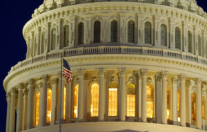 The United States Capitol Dome is seen before dawn in Washington, D.C. Photo by Gary Cameron/Reuters