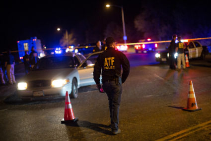 Authorities maintain a cordon near the site of an incident reported as an explosion in southwest Austin, Texas, U.S. March 18, 2018. REUTERS/Tamir Kalifa - RC16E754C730