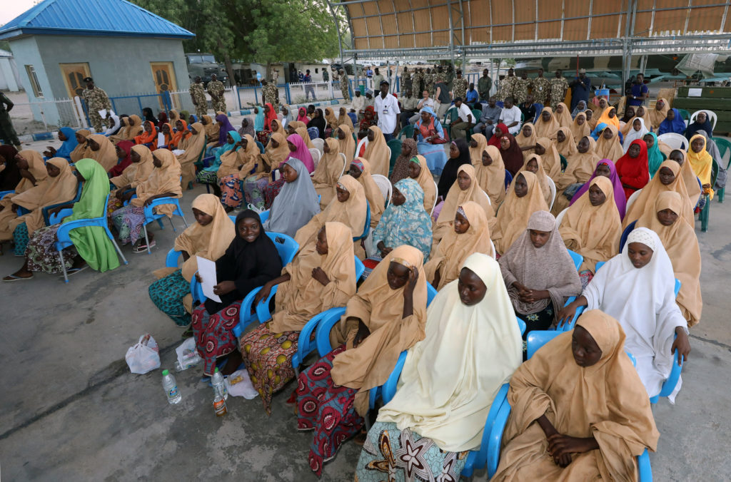 The Nigerian government has been criticized for its handling of the repeated school kidnappings by Boko Haram militants. Photo by Afolabi Sotunde/Reuters