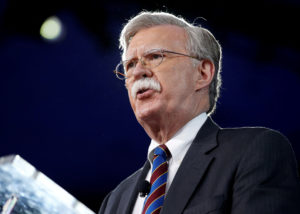 File photo of National Security Adviser John Bolton by Joshua Roberts/Reuters