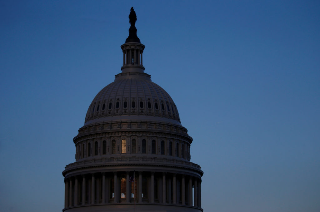 Congress is facing a Friday deadline to reach a deal to avoid a partial government shutdown. File photo by REUTERS/ Leah Millis