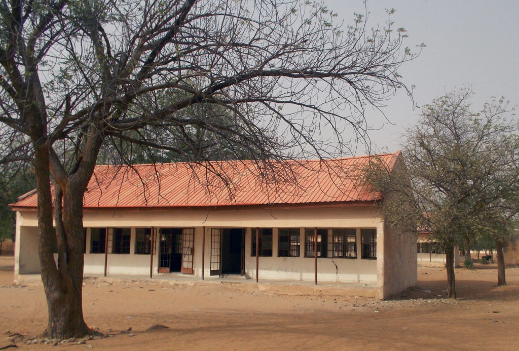 A view shows the school in Dapchi in the northeastern state of Yobe, where dozens of school girls went missing after an attack on the village by Boko Haram, Nigeria in February. Photo by Ola Lanre/Reuters