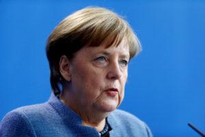 File photo of German Chancellor Angela Merkel by Hannibal Hanschke/Reuters