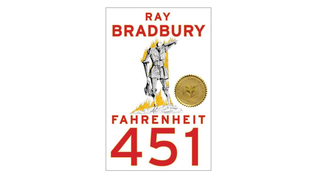 """Fahrenheit 451"" Credit: Simon & Schuster"