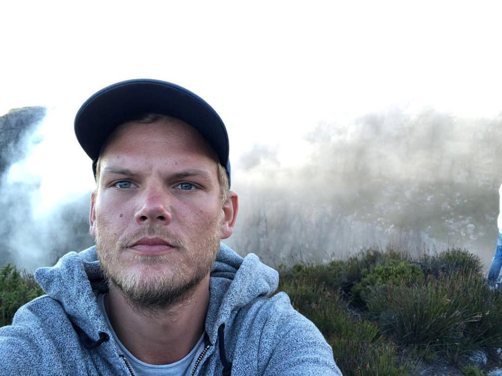 Swedish musician, DJ, remixer and record producer Avicii (Tim Bergling) takes a selfie on Table Mountain, South Africa in this picture obtained from social media January 11, 2018. Photo by Avicii via Instagram and REUTERS