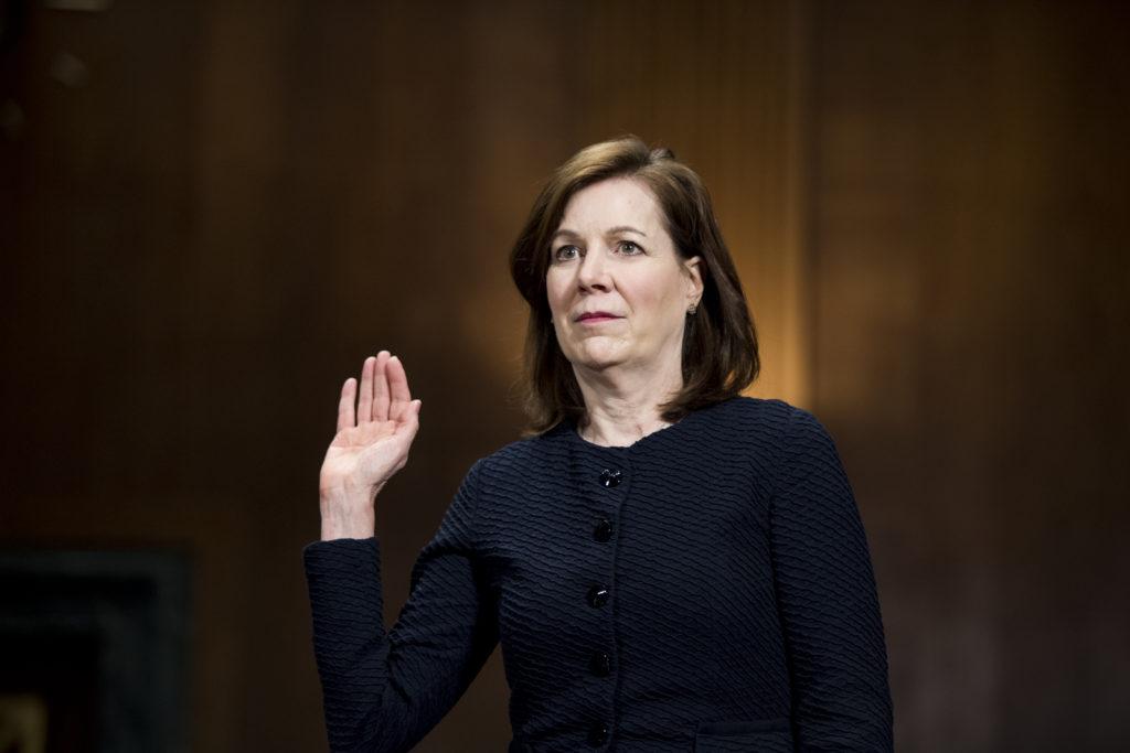 UNITED STATES - APRIL 11: Wendy Vitter, wife of former Sen. David V…