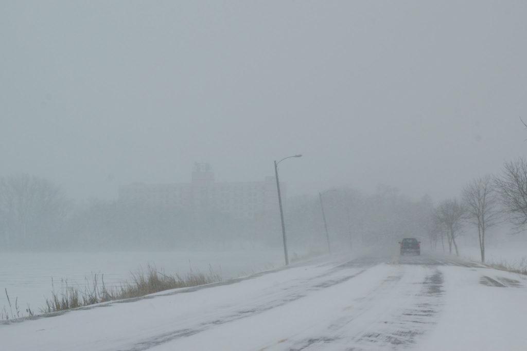 Winter storm Xanto in West Central Minnesota on April 14, 2018. Photo by Greg Gjerdingen/Creative Commons